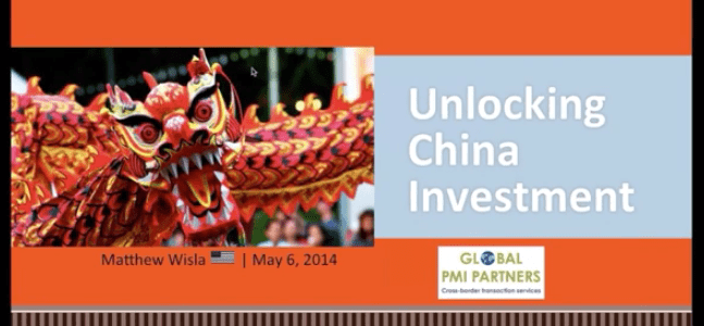 Available for Online Viewing: Unlocking China Investment 1