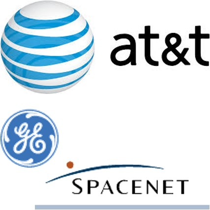 at&t GE Spacenet
