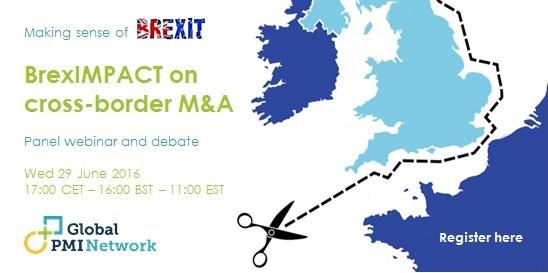 Webinar: BrexIMPACT on Cross-Border M&A 1