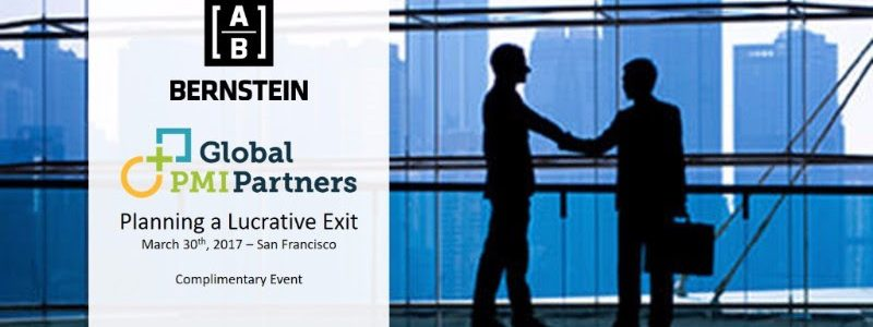 Planning a Lucrative Exit - San Francisco Luncheon and Panel Discussion 1