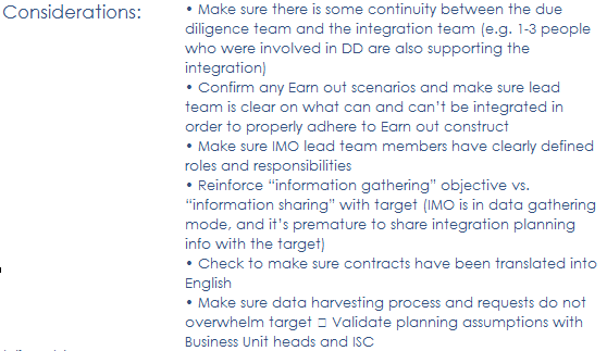 Building Effective Playbook Solutions to Support M&A Activities 3