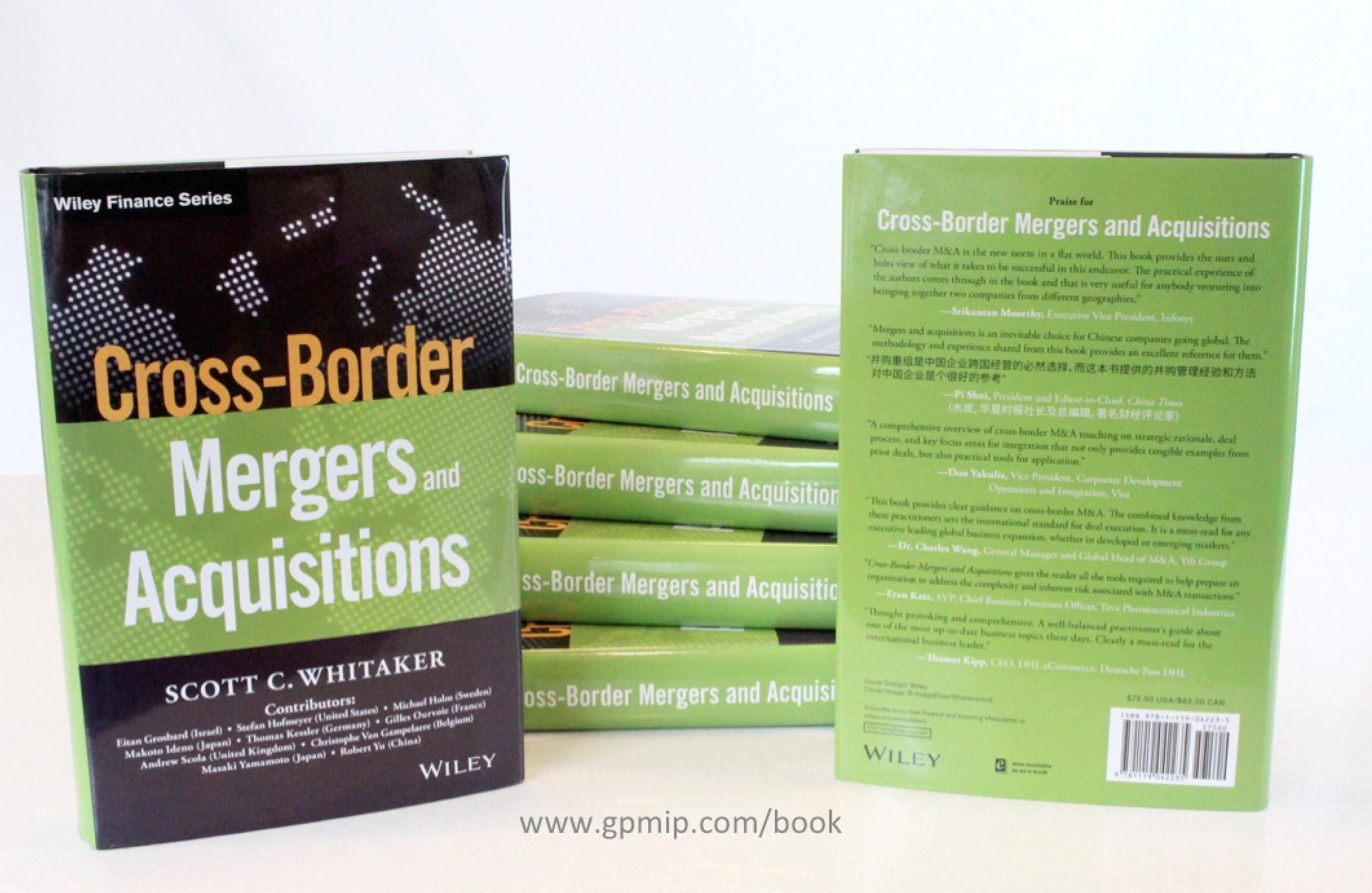 Cross-Border M&A Book