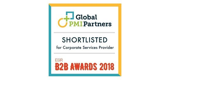 Global PMI Partners Shortlisted on EGR B2B Awards 1