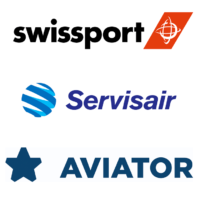Swissport Servisair Aviator