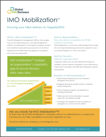 IMO Mobilization<span>℠</span> Brochure 1