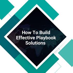 build playbooks